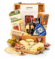 top shelf charcuterie and cheese basket perishable gourmet the perfect gift basket to indulge those whose tastes lean toward the savory over the sweet