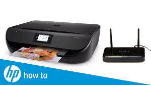 How To Connect an HP Printer to a <b>Wireless</b> Network Using <b>Wi-Fi</b> ...