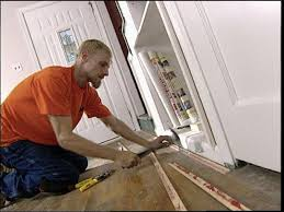 how to install carpet over hardwood