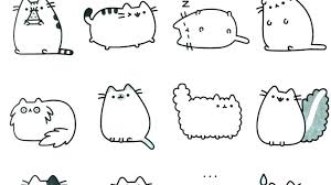 Pusheen Coloring Pages To Print Coloring Pages Coloring Pages