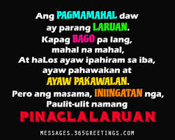Tagalog Love Quotes for Her Messages, Greetings and Wishes ... via Relatably.com