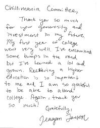 2014 scholarship note