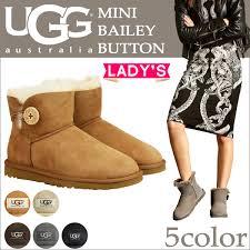 UGG UGG women s mini Bailey button Sheepskin boots 3352 WOMENS MINI BAILEY  BUTTON Womens Sheepskin at 50% off!