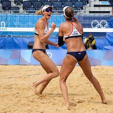 Gold in Beach Volleyball ...