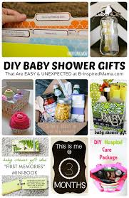 easy and unexpected diy baby shower gifts at b inspired mama sponsored by