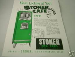 Vending Machine Brochure Gorgeous STONER CAFE 48D COFFEE VENDING MACHINE BROCHURE FLYER 48