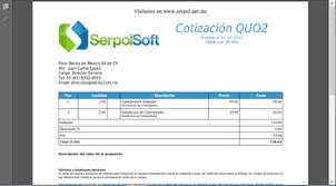 Formato Para Cotizacion De Servicios Serpol Software Es El Sistema Para Cotizar Y Mejorar Ventas