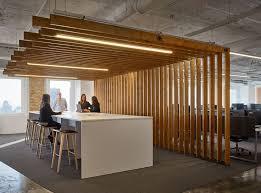 tough mudder office. textura offices u2013 chicago breakout meeting space wood slats tough mudder office