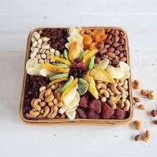 dried fruit nut tray