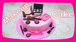 makeup cake toppers