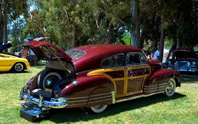 1948 Chevrolet Fleetline woodie - maroon metallic - rvr - General ...