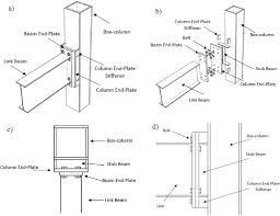 Connection Of I Beam To Box Column By A Short Stub Beam
