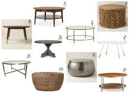 affordable round coffee tables the chronicles of home in popular circular coffee tables gallery