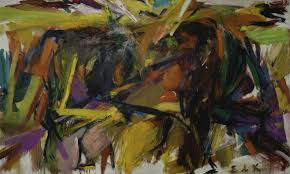painting a new portrait of the president john kennedy would fit any national art gallery elaine de kooning