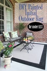 and since the rest of the porch needed a little freshening up too i gave it a little help as well but first the rug how to