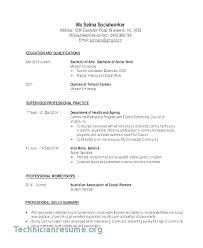 Social Work Resume Sample Social Work Resume Objective Examples Cool Social Work Resume Skills
