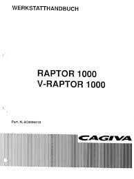 cagiva raptor 1000 v raptor 1000 workshop manual german pligg cagiva raptor 1000 v raptor 1000 workshop manual german