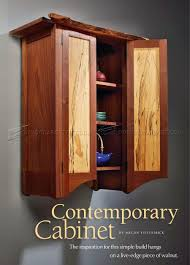 Simple Wall Cabinet Contemporary Wall Cabinet Plans O Woodarchivist