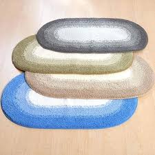 home fast track oval bath rug rugs set