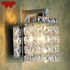 crystal chandelier wall light led foyer living room bedside glass crystal wall lamp crystal wall light wall light wall lamp with 44 56 piece on