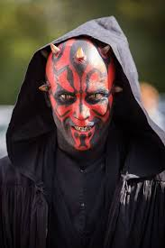 darth maul makeup for le salon des geek by made me a monster