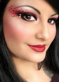 ladybug eye makeup tastefully done