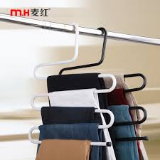 get quotations wheat red s multifunction scarf hanger rack pants hanger rack pants clip pants hanging pants hanger