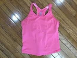 Moving Comfort Bra Size Chart Details About Moving Comfort Women S Pink Tank Yoga Athletic Top Built In Bra Size Xl