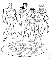 Small Picture Batman And Robin Coloring Page GetColoringPagescom