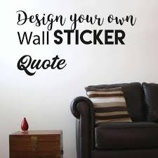 Small Picture Custom Wall Stickers Custom Wall Decals Wall Sticker Design UK
