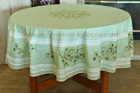 petite olive green round rectangle cotton french provence tablecloths french country table decor home decor gifts matching napkins available