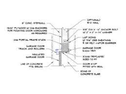 garage door cad drawings clever ideas garage door jamb detail dwg pdf clopay