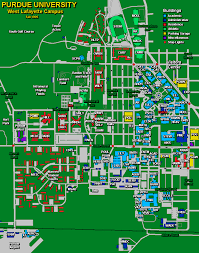 Purdue Campus Map