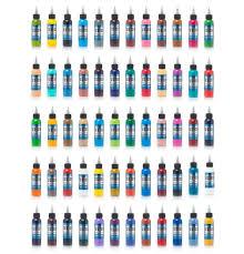 Eternal Ink Colour Chart Eternal Ink Standard 60 Bottle Set