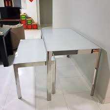 dining table and coffee table set