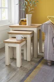 malvern nest of 3 tables from next