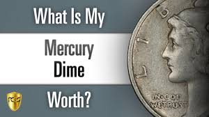 Dime Value Chart What Is My Mercury Dime Worth