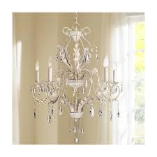 kathy ireland devon 5 light antique white crystal chandelier