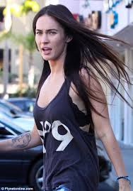 bare faced cheek megan fox shows off her makeup free face and