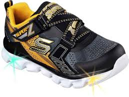 skechers shoes for boys. skechers s lights hypno flash z strap sneaker shoes for boys