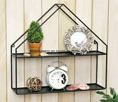 china customized metal wall shelf