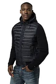 Men's Coats & Jackets   Tommy Hilfiger USA & Hybrid Hooded Bomber Adamdwight.com