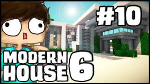 Minecraft Modern Kitchen Minecraft Lets Build Modern House 6 Part 10 The Kitchen