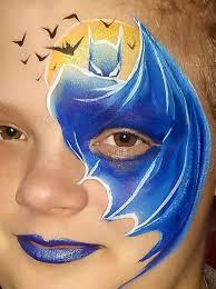 Face Painting Superheroes Design Batman Cape Eye Design Superhero Face Painting Face