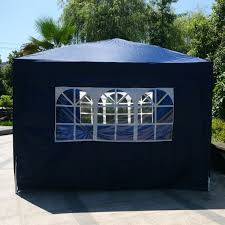Folding Tent 10 X 10 Two Doors Two Windows Canopy Party Folding Tent With