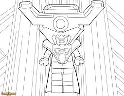Lego Movie Coloring Pages Refrence The Page Lord Business Printable