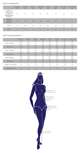 Hybrid Size Chart Our Size Guide Hybrid Fashion