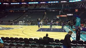 Spectrum Center Section 113 Charlotte Hornets