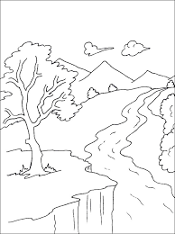 Coloring Pages Of Rivers Color Bros