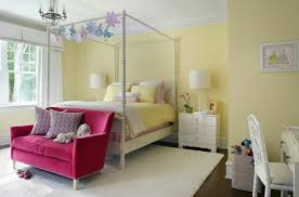 interior ideas pale yellow wall paint bedroom white carpet colored sofa